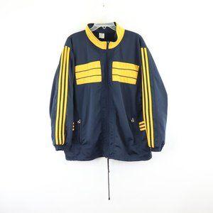 Rare Vintage Adidas Mens Zippered Track Jacket XXL